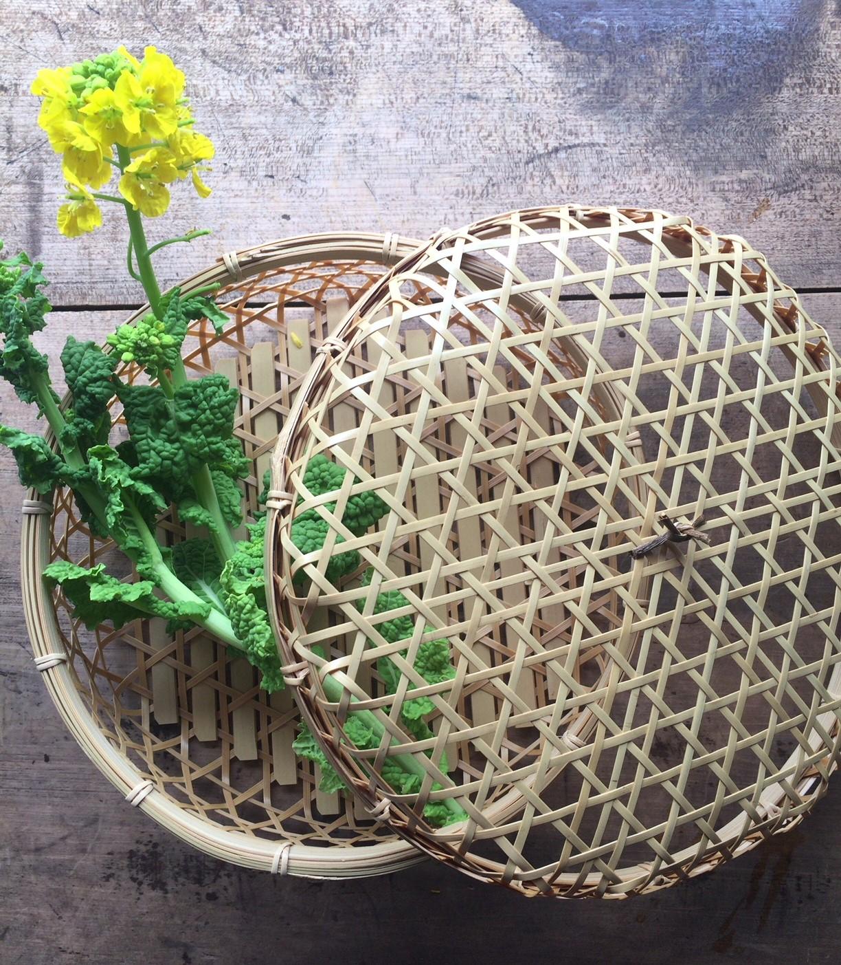 春のお弁当籠