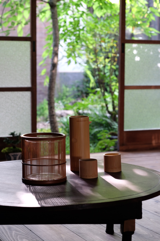 竹製の酒器