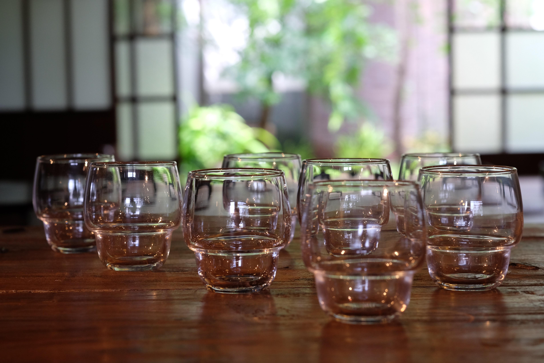 普段づかいのガラスコップ