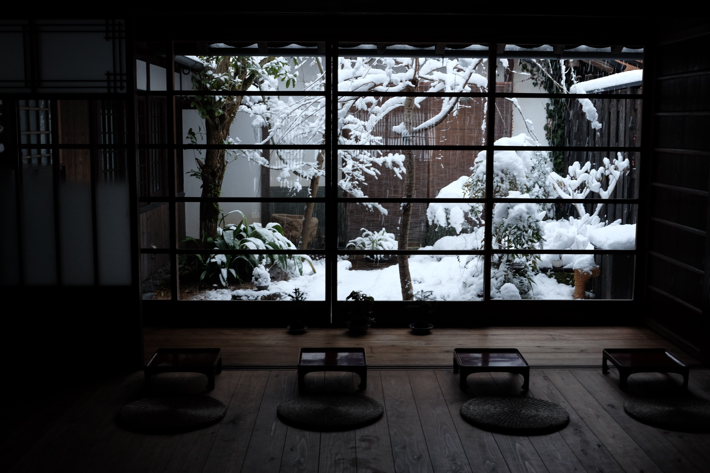 久しぶりの雪景色