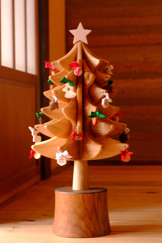木組みのクリスマスツリー